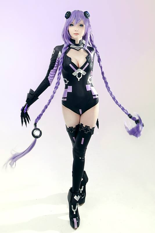Purple Heart z Hyperdimension Neptunia