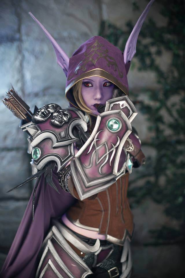 Sylvanas Windrunner z World of Warcraft