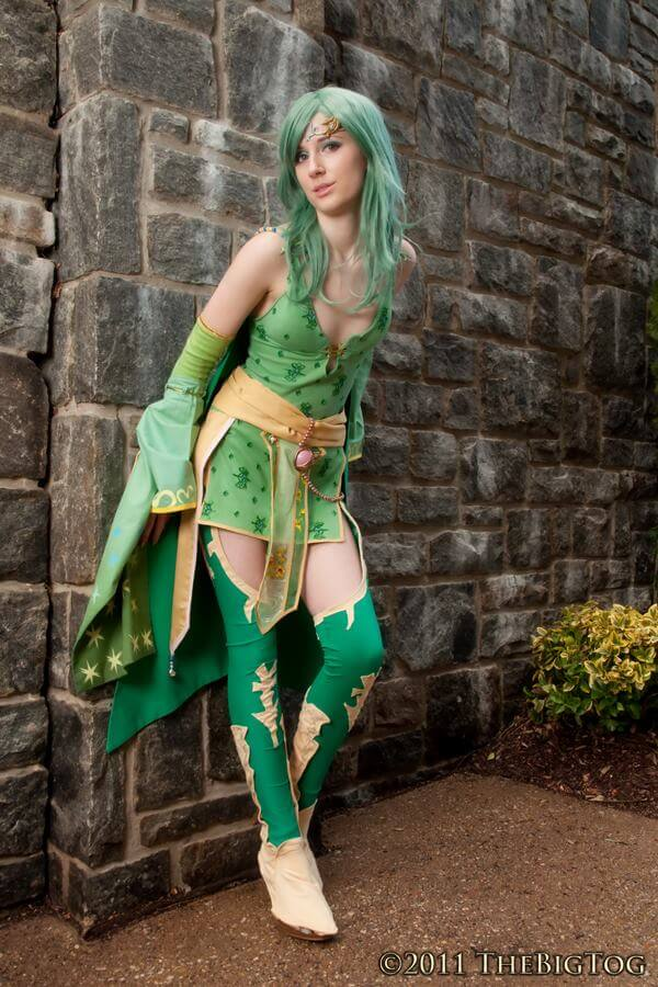 Rydia of Mist z Final Fantasy IV