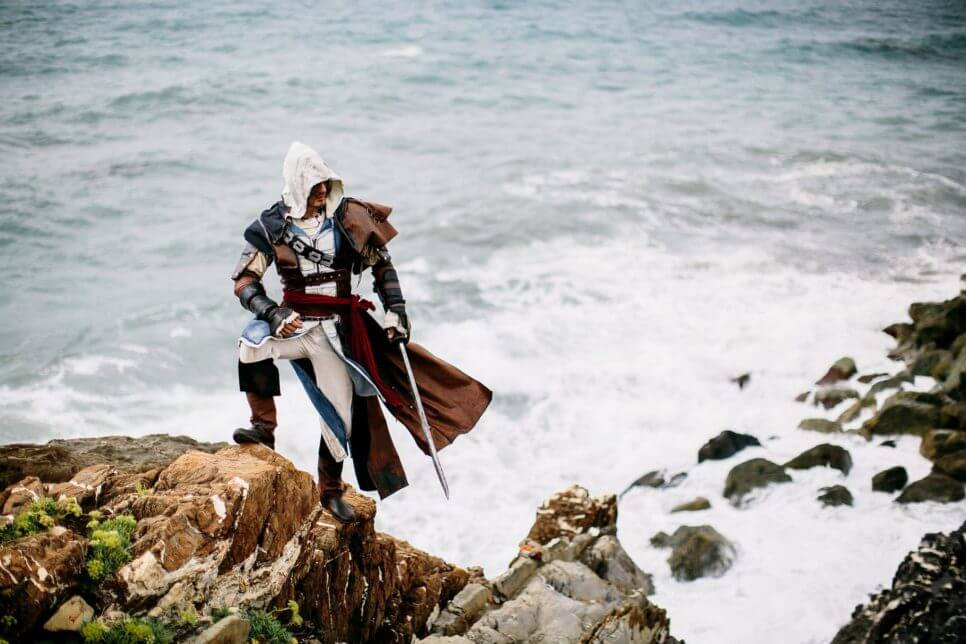 Edward Kenway z Assassin's Creed IV: Black Flag - czas na cosplay!
