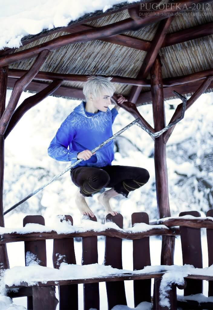 Jack Frost z Rise of the Guardians