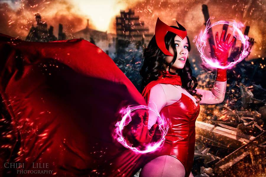 Scarlet Witch z Marvel Universe - czas na cosplay!