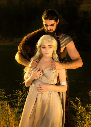 Daenerys Targaryen i Khal Drogo | Game of Thrones