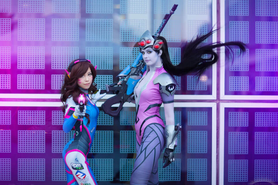 D.va i Widowmaker | Overwatch