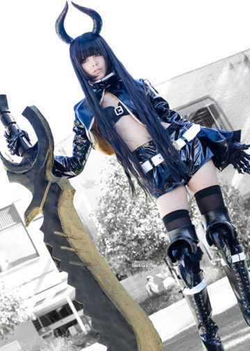 Black Gold Saw | Black Rock Shooter