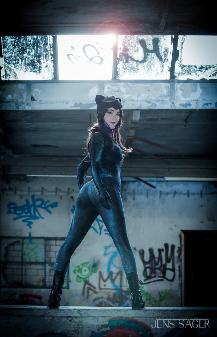 Catwoman z DC Universe - czas na cosplay!