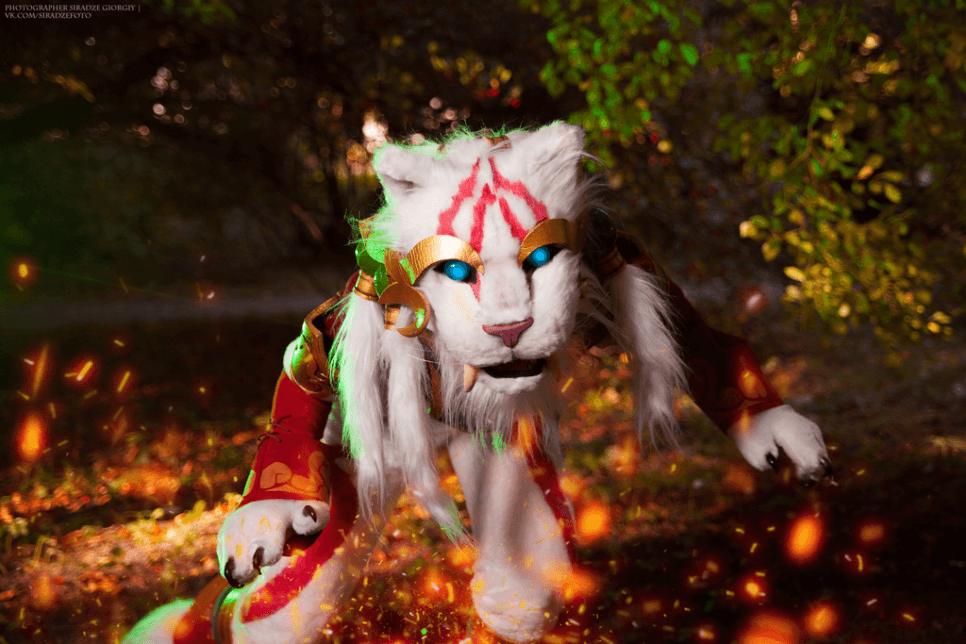 Warring Kingdoms Nidalee cougar z League of Legends - czas na cosplay!