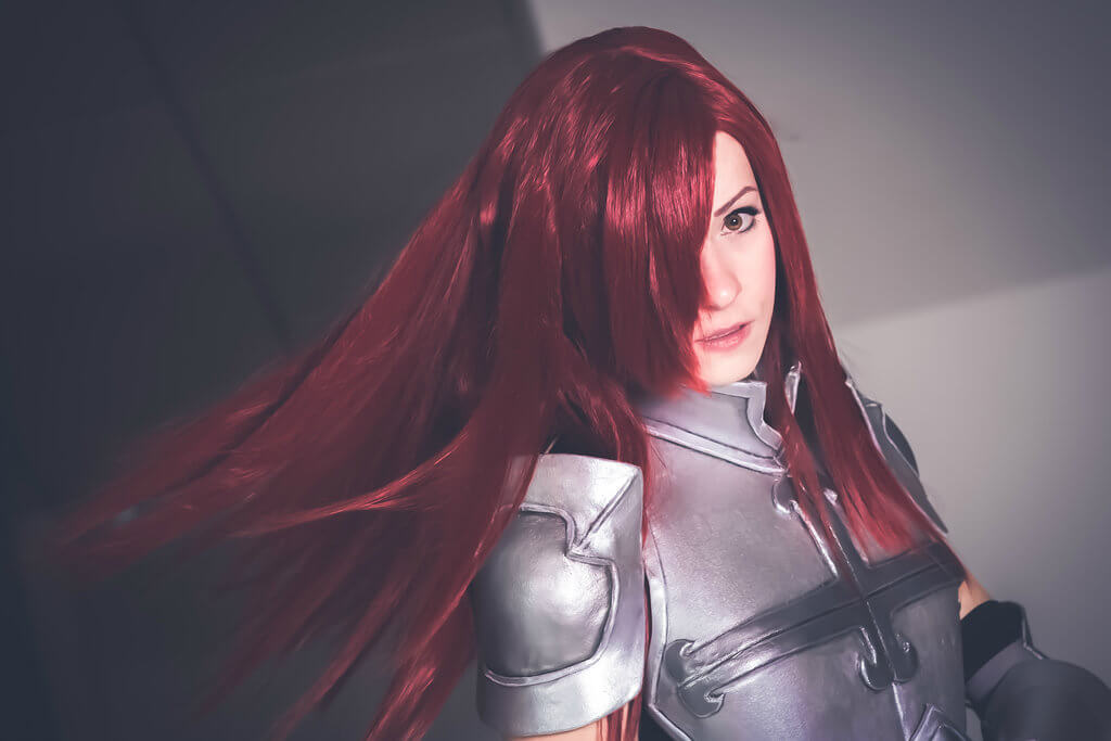 Erza Scarlet z Fairy Tail