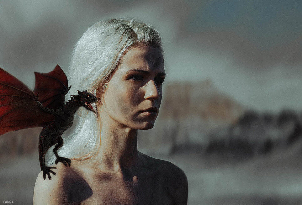Daenerys, Mother of Dragons z Game of Thrones