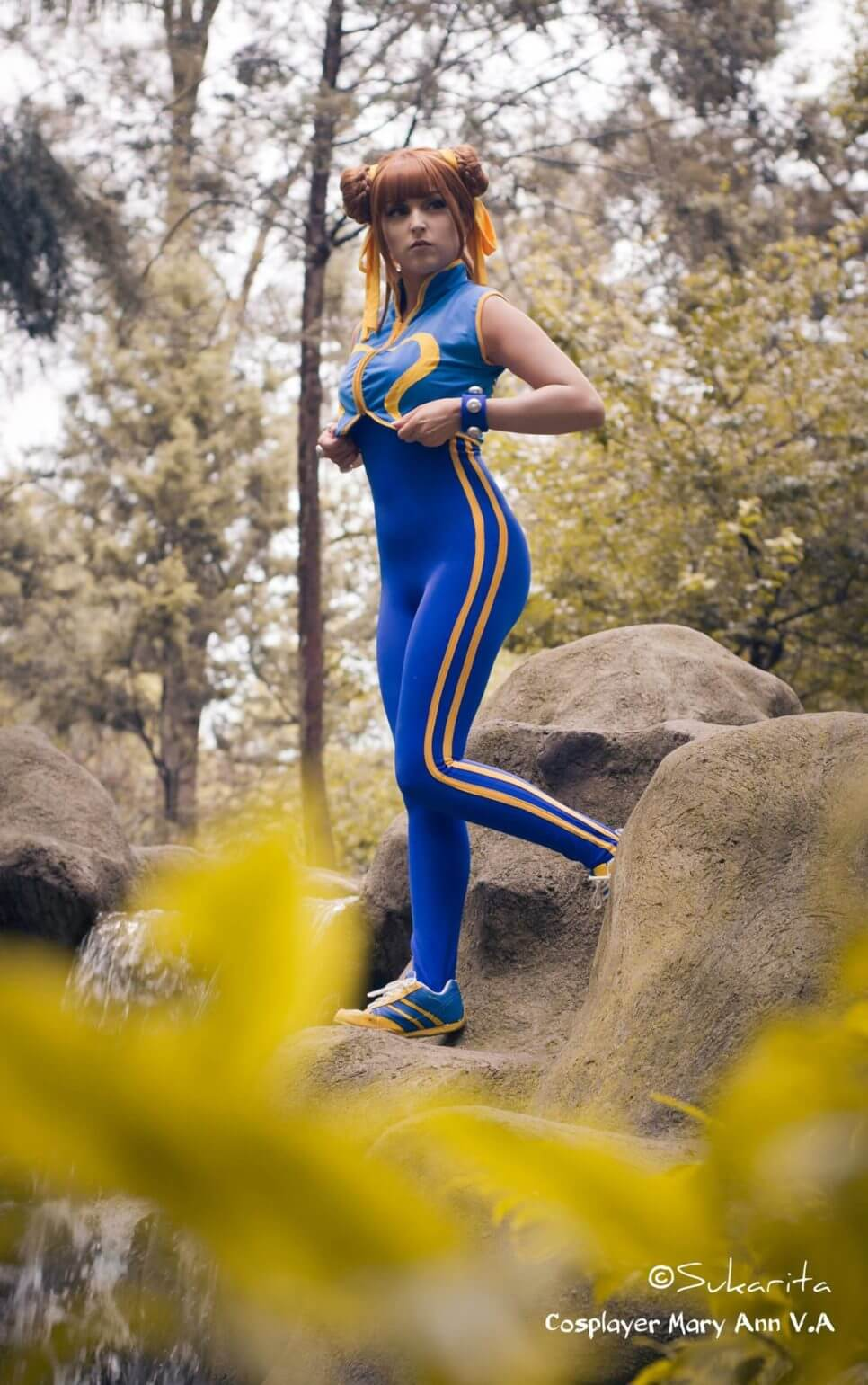 Chun-Li ze Street Fighter Alpha