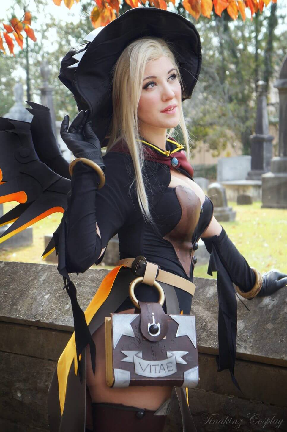 Witch Mercy z Overwatch - czas na cosplay!