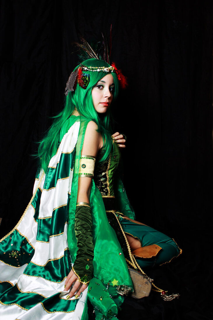 Rydia z Final Fantasy IV - czas na cosplay!