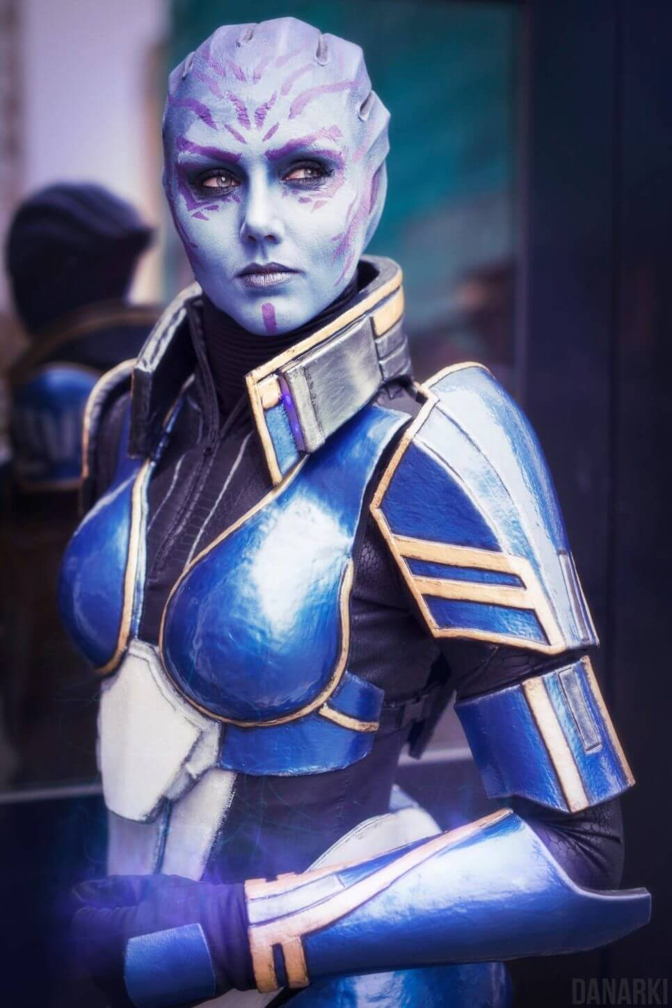 Tela Vasir z Mass Effect 2: Shadow Broker - czas na cosplay!