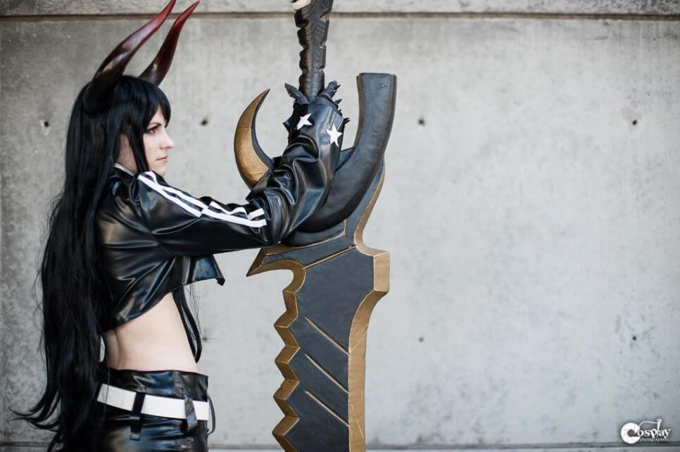 Black Gold Saw z Black Rock Shooter - czas na cosplay!