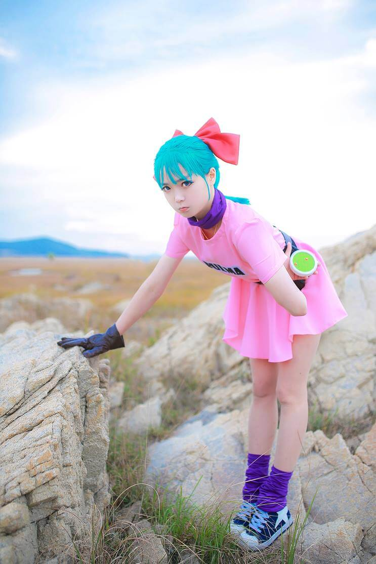 Bulma z Dragon Ball - czas na cosplay!