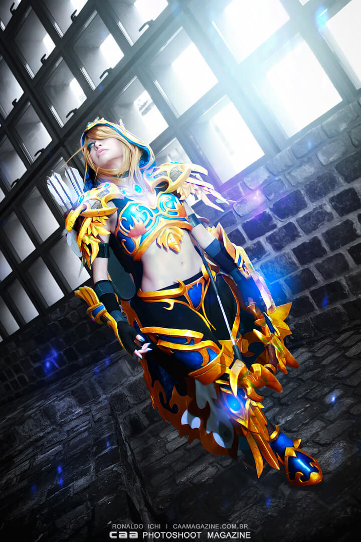 Ranger General Sylvanas z Heroes of the Storm - czas na cosplay!
