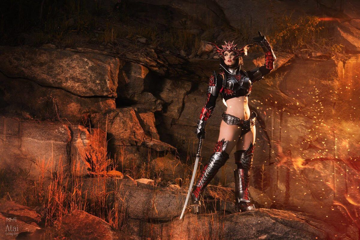 Draconic Armor z Lineage 2