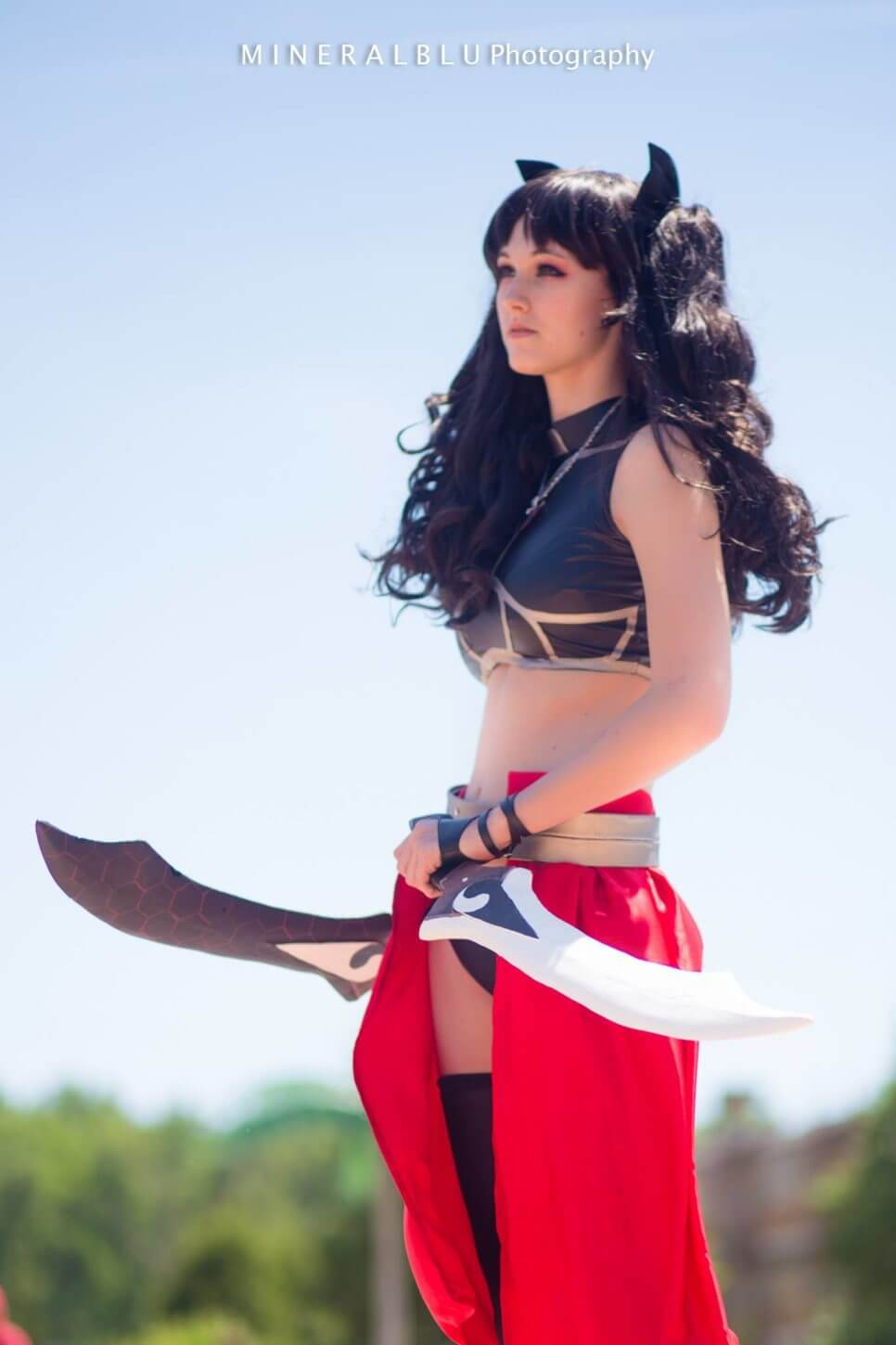 Rin Tohsaka z Fate/Stay Night