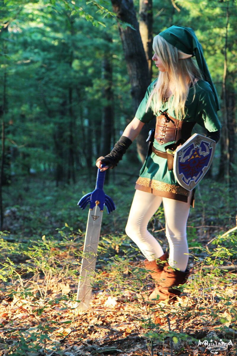 Gender Bender Link z The Legend of Zelda