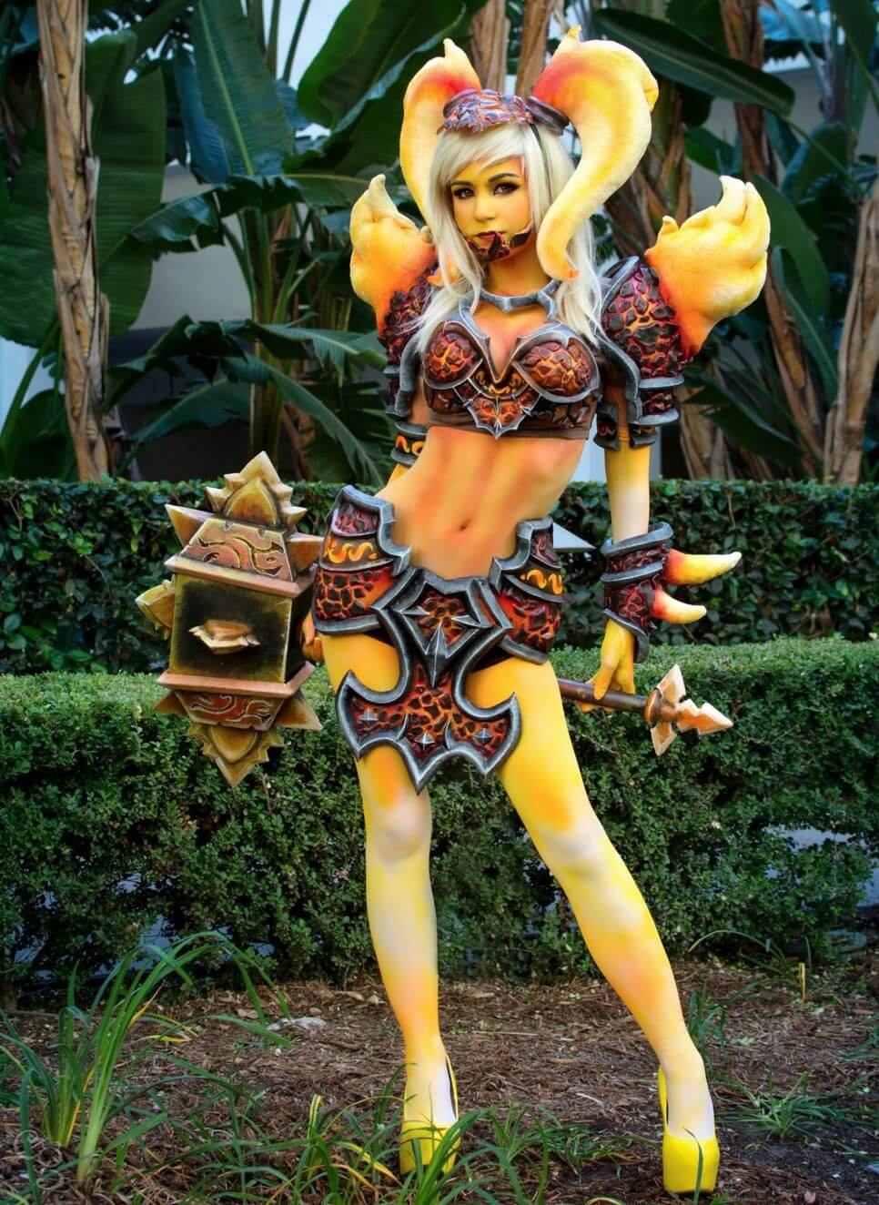 Ragnaros z Heroes of the Storm - czas na cosplay!