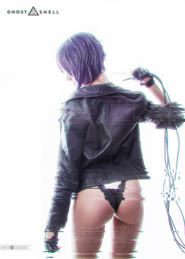 Motoko Kusanagi z Ghost in the Shell