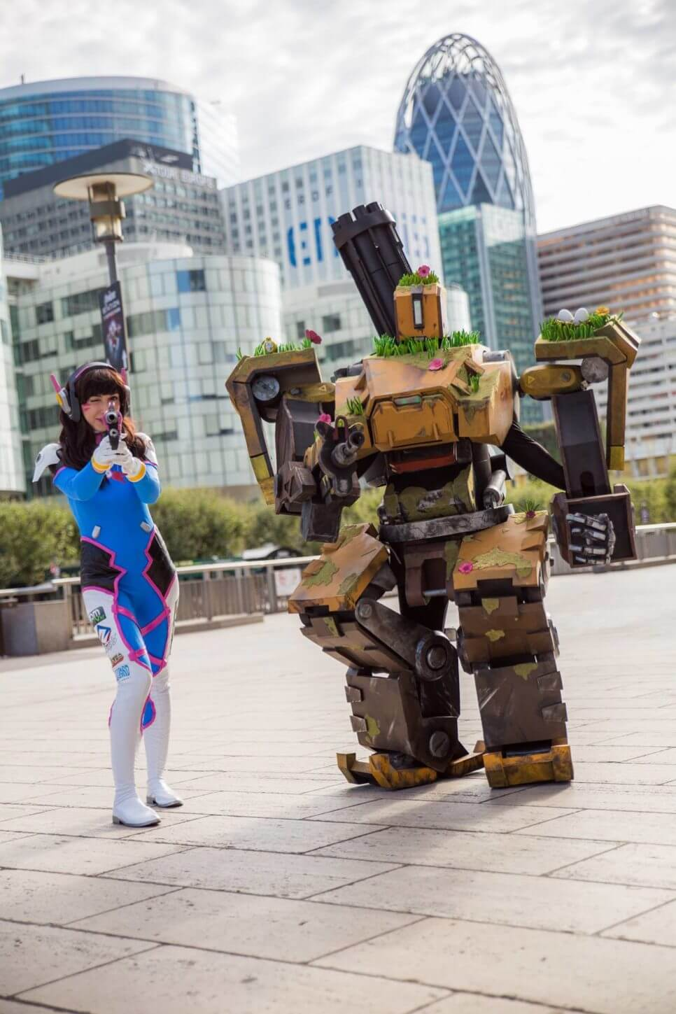 Bastion i D.Va z Overwatch - czas na cosplay!