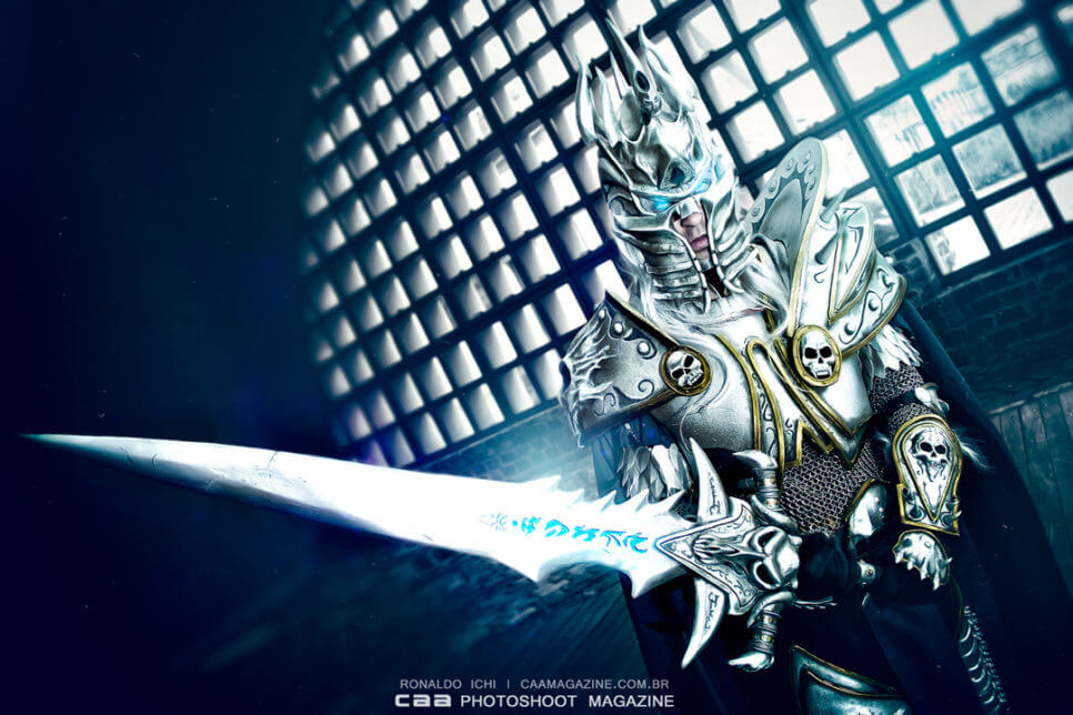 Lich King z World of Warcraft - czas na cosplay!