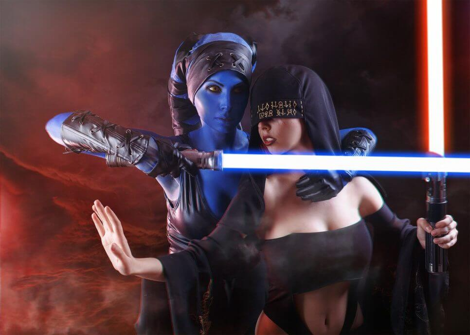 Jedi vs. Sith ze Star Wars - czas na cosplay!