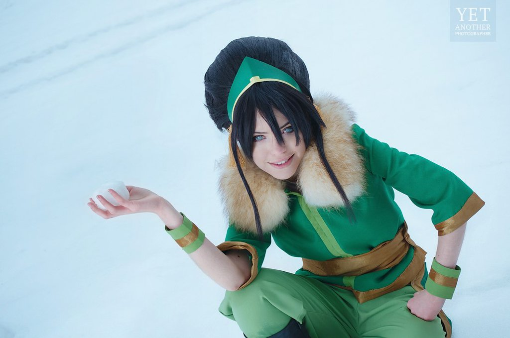 Toph Bei Fong z Avatar: The Last Airbender