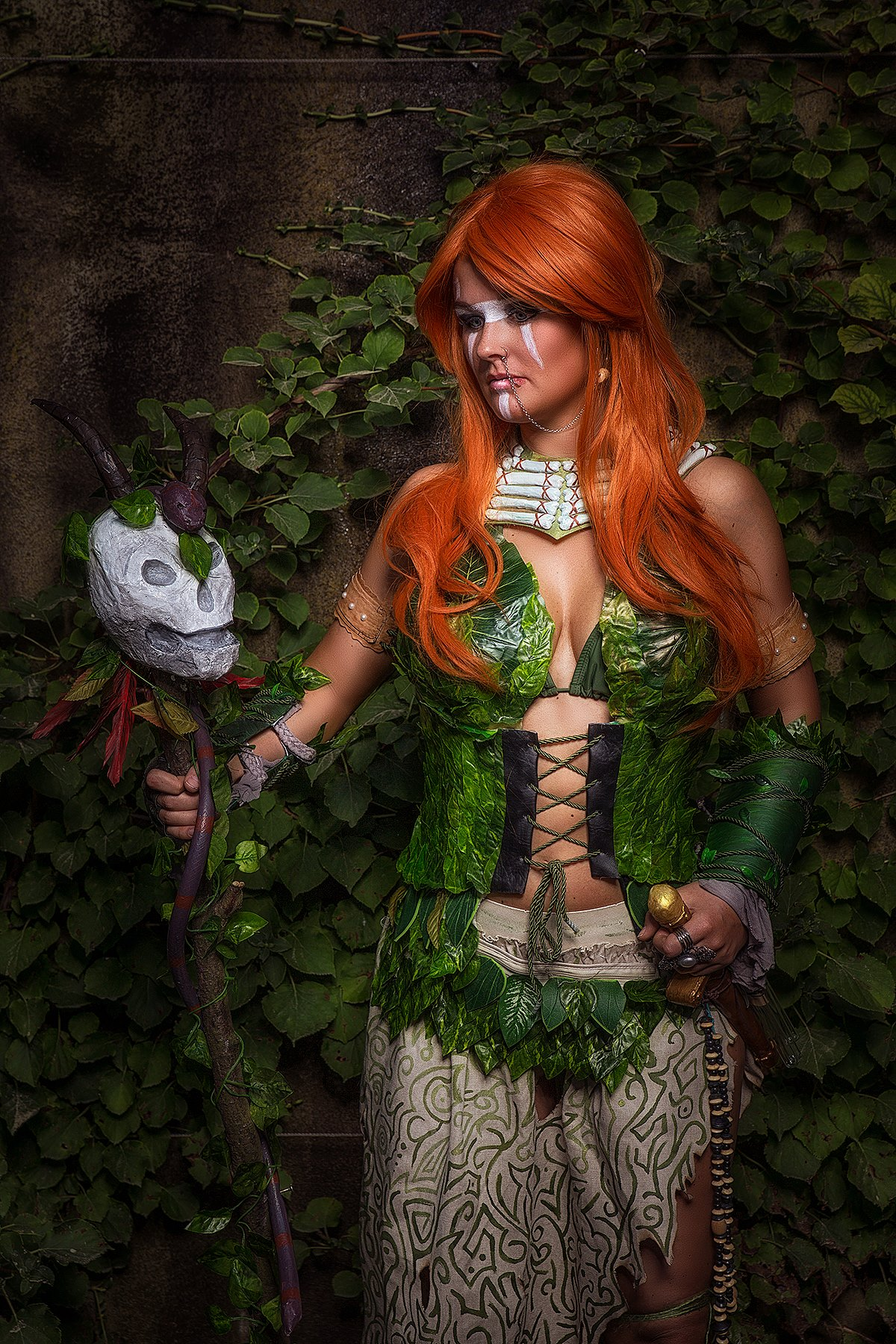 Witch Doctor Poison Ivy z DC Comics