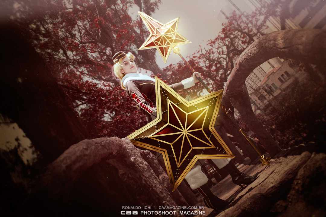 Red Star Athena ze Smite