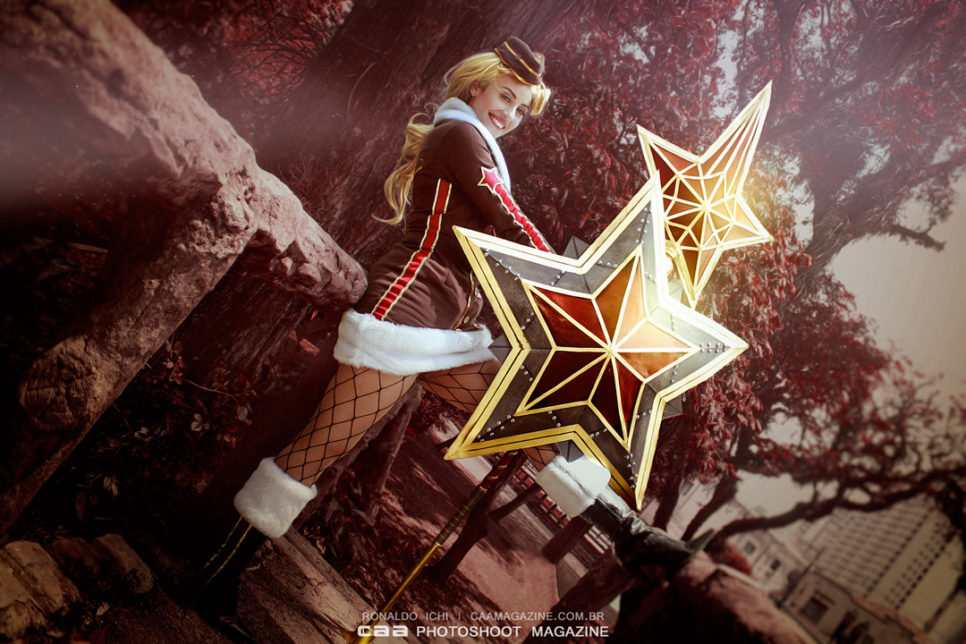 Red Star Athena ze Smite - czas na cosplay!