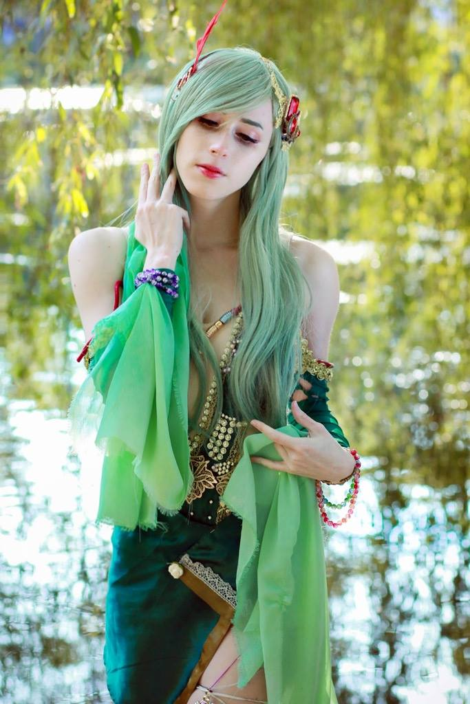 Rydia z Final Fantasy - czas na cosplay!