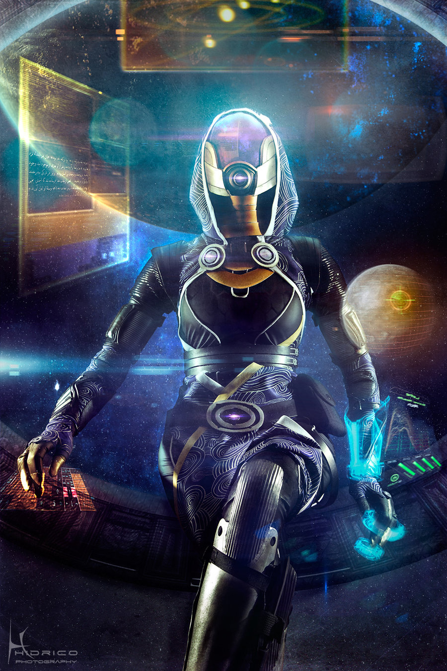 Tali'Zorah z Mass Effect