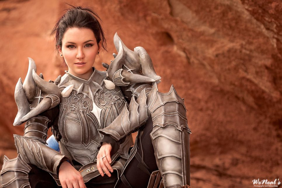 Citadel of Flame Armor z Guild Wars 2 - czas na cosplay!