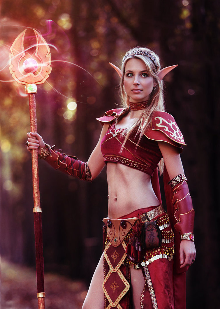 Blood Elf z World of Warcraft