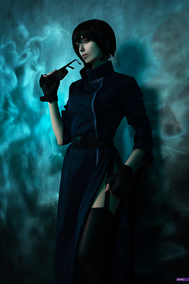 Motoko Kusanagi z Ghost in the Shell (1995) - czas na cosplay!