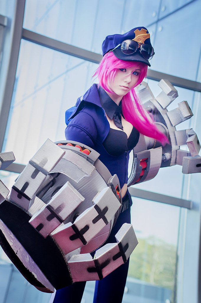 Officer Vi z League of Legends