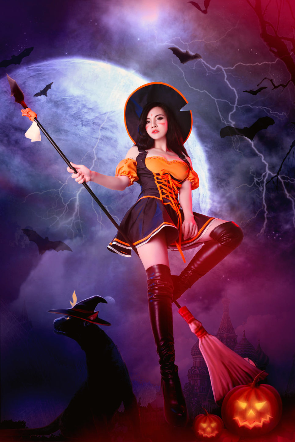 Bewitching Nidalee z League of Legends - czas na cosplay!