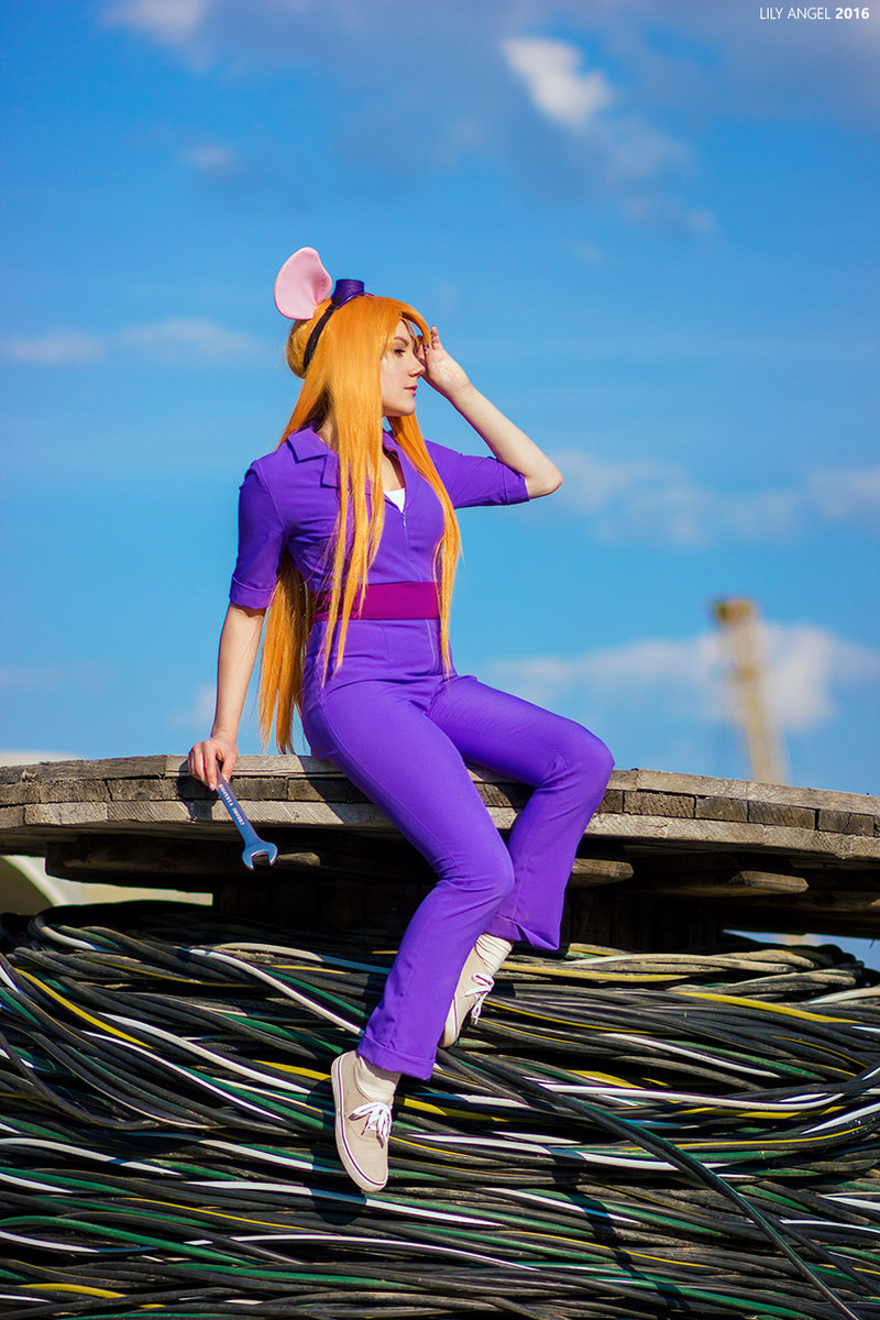 Gadget Hackwrench z Chip 'n Dale Rescue Rangers