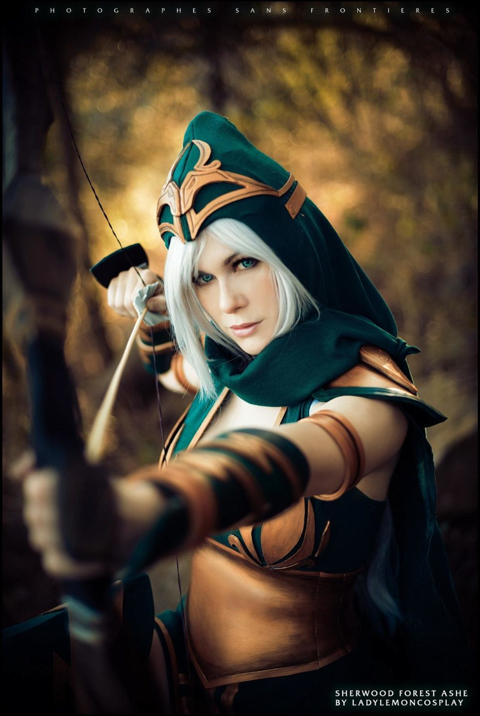 Sherwood Forest Ashe z League of Legends