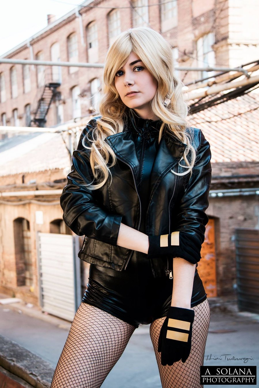 Black Canary z Justice League of America