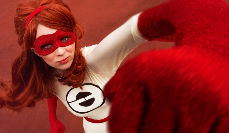 Elastigirl z The Incredibles