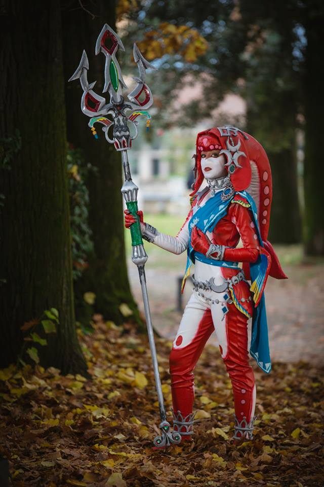 Mipha z The Legend of Zelda: Breath of the Wild