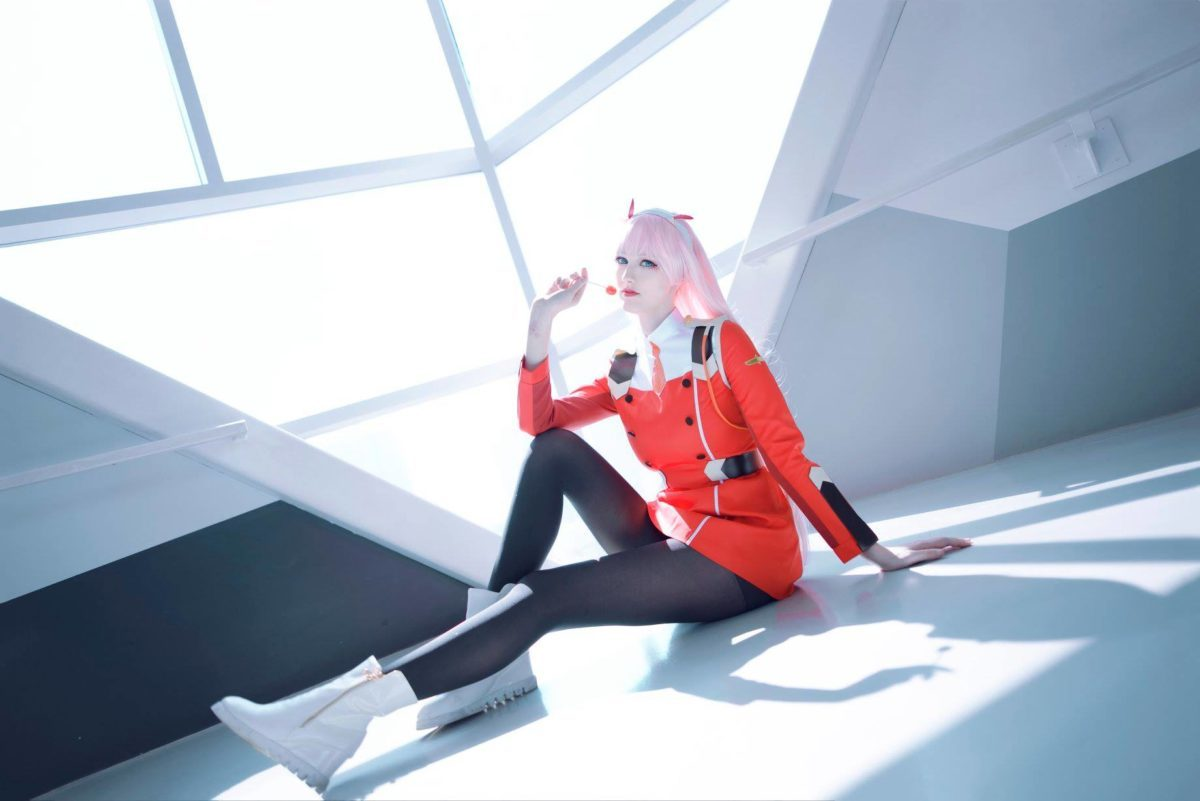 Zero Two z Darling in the FranXX