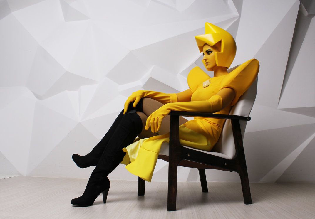 Yellow Diamond z Steven Universe