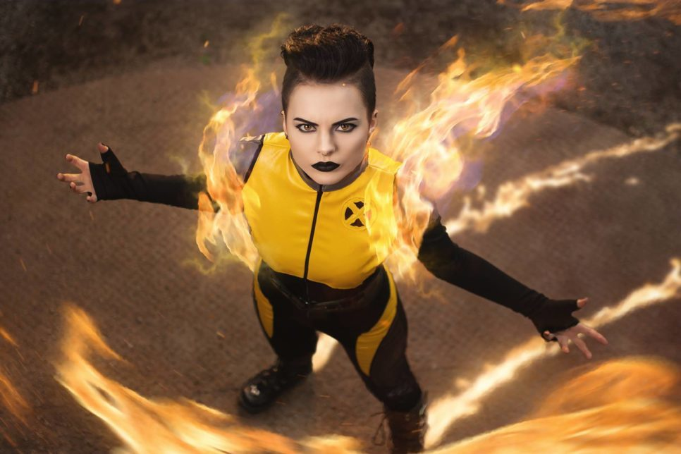 Negasonic Teenage Warhead z Marvel