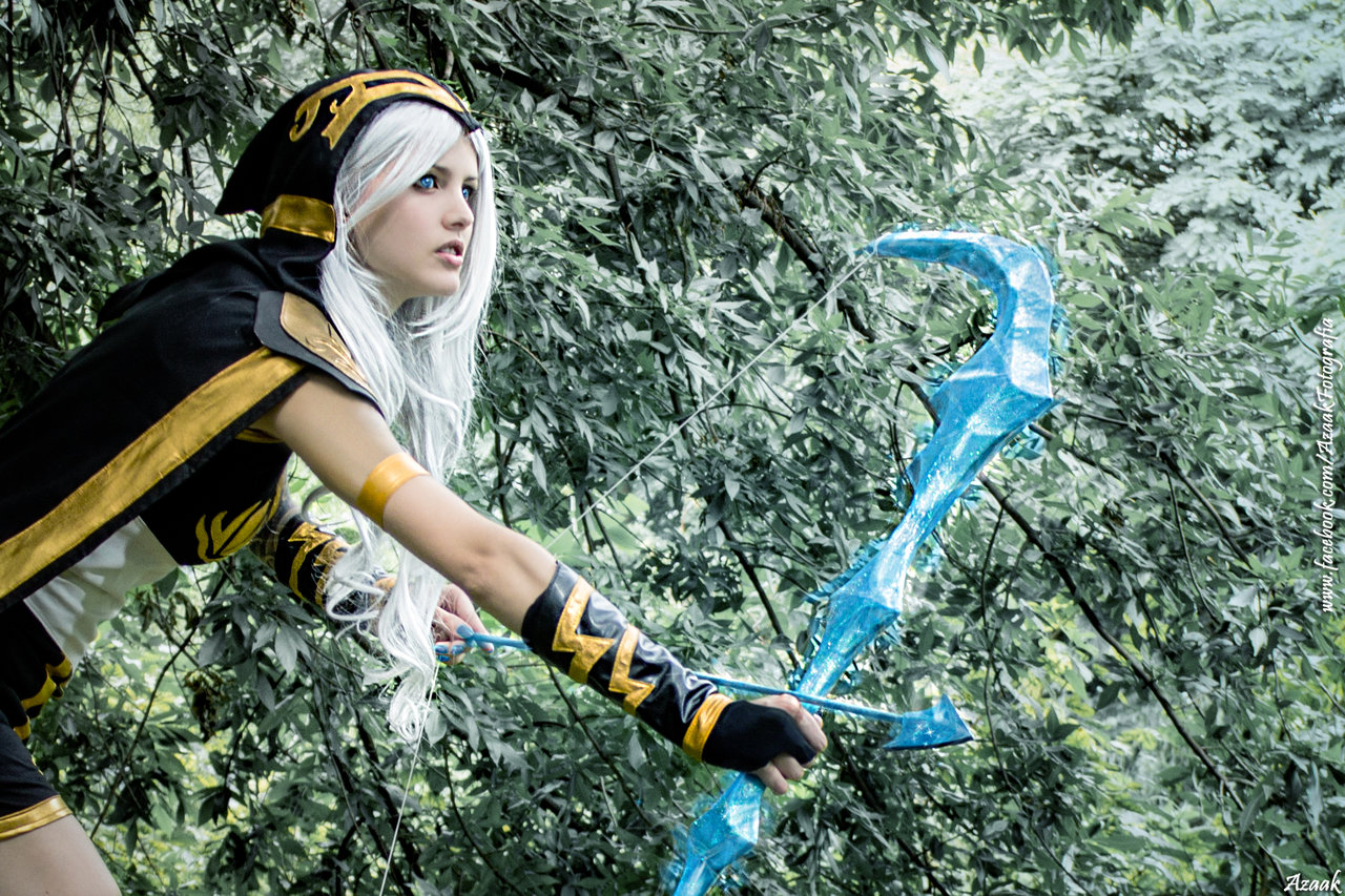 Ashe z League of Legends