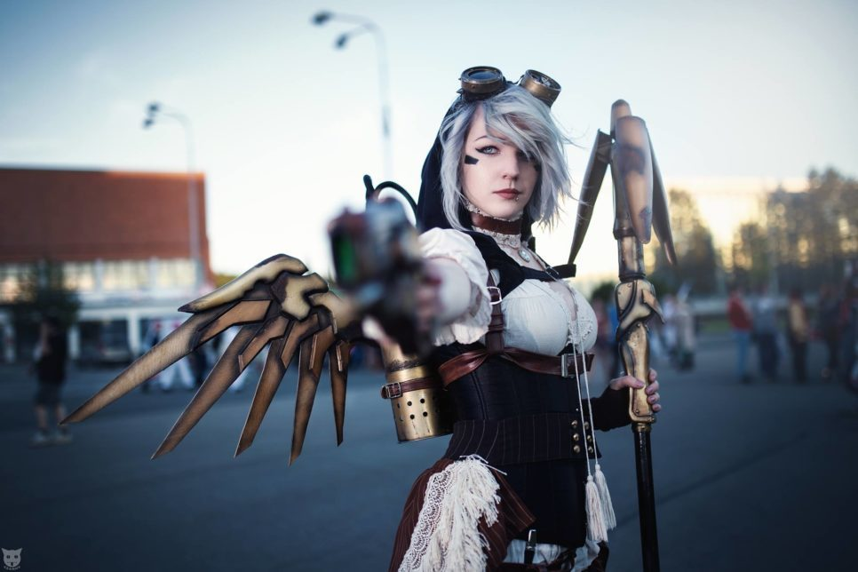 Steampunk Mercy | Overwatch