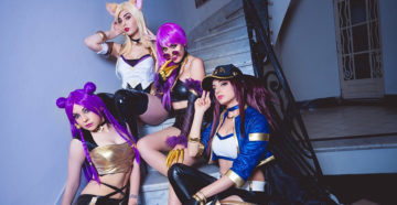 K/DA Ahri, K/DA Kai'Sa, K/DA Evelynn i K/DA Akali | League of Legends
